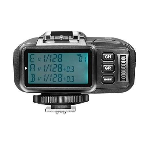 Neewer TTL 1/8000s HSS 2.4G Wireless Flash Trigger Transmitter for Olympus Panasonic Mirrorless Digital Camera and NW400o TT350o NW600BM AD600 AD600M AD360II AD200 NW850II V850II TT600 Flash (N1T-O)