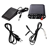 ATOMUS Mini Professional Motor Professional Tattoo Kit Tattoo Mini Power Supply Foot Pedal Flexible Clip Cords With European standard Power Cable