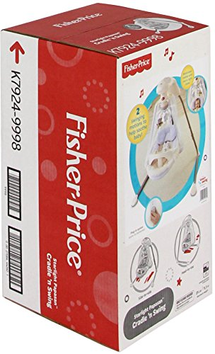 Fisher-Price Papasan Cradle Swing, Starlight by Fisher-Price (Image #8)