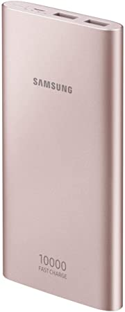 SAMSUNG EB-P1100BPEGWW batería Externa Rosa 10000 mAh - Baterías externas (Rosa, Universal, 10000 mAh, USB, 5,2 h, 5/9 V)