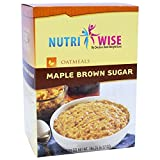 NutriWise - Maple Brown Oatmeal | Healthy