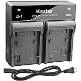 Kastar Fast Dual Charger for Samsung SB-L160 SB-L320 and Samsung SC-D180 SC-D23 SC-D33 SC-D5000 SC-D590 SC-D67 SC-D77 SC-D80 SC-D86 SC-L520 SC-L530 SC-L550 SC-L600 SC-L610 SC-L630 SC-L650 SC-L700