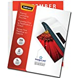 Fellowes Thermal Laminating Pouches, ImageLast, Jam Free, Letter Size, 5 Mil, 200 Pack