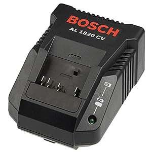 Bosch 2 607 225 424  - Cargador rápido Li-Ion AL 1820 CV - 2,0 A, 230 V, EU (pack de 1)