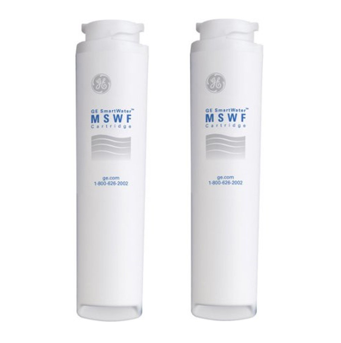 GE MSWF Refrigerator Water Filter, 2 Pack Size: 2 Pack Model: MSWF