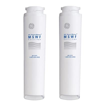 .com - ge mswf refrigerator water filter, 2 pack size: 2 pack ...