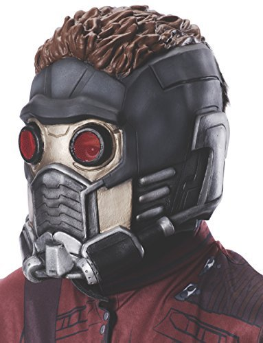 [Rubie's Guardians of the Galaxy Child's Star-Lord 3/4 Mask] (Movie Star Costumes For Boys)