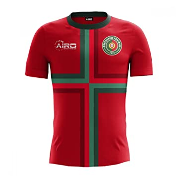 c917fb3a0 Airo Sportswear 2018-2019 Portugal Home Concept Football Soccer T-Shirt  (Kids): Amazon.co.uk: Sports & Outdoors
