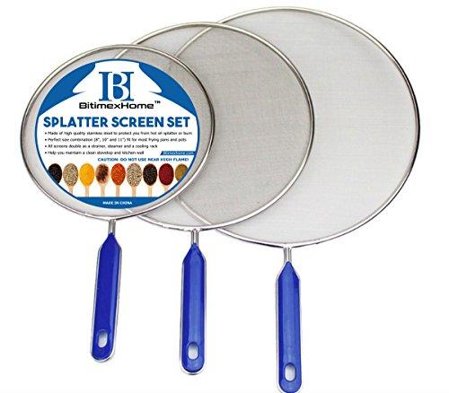 Grease Splatter Screen Frying