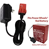 SafeAMP 6-Volt Charger for Fisher-Price Power Wheels Red Battery
