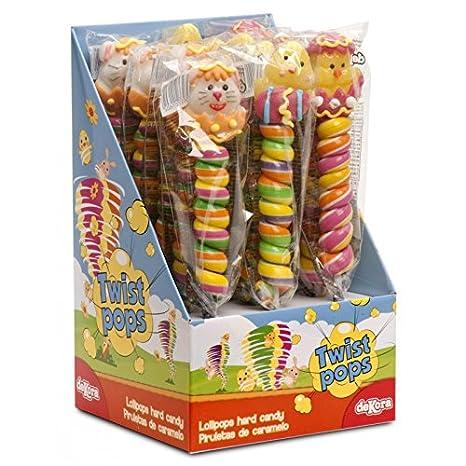 1 Chupete Animal en azúcar Pascua 35 gr: Amazon.es: Hogar