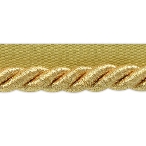 Expo International Inc. Nicholas Twisted Lip Cord Trim, 20 yd, 3/8