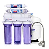 LiquaGen - 6 Stage Residential Under-Sink Mineral Restoration pH Alkaline Reverse Osmosis (RO) Water Filter System (50 GPD)