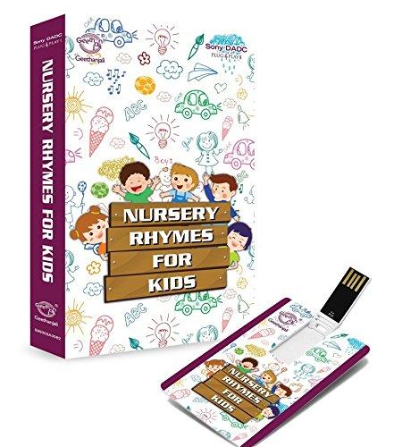 Buy Music Card Nursery Rhymes For Kids Usb 320 Kbps Mp3 Audio
