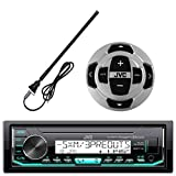 Best JVC XO Vision Bluetooth Audio Receiver For Cars - JVC KD-X33MBS In-Dash Marine Boat Yacht Bluetooth Radio Review