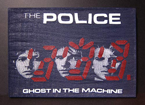 Police | Upcycled T-shirt Wall Art Hanging | Ghost in the Machine Tour 1981