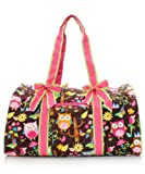 Quilted OWL Print Duffle Bag, Bags Central