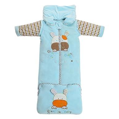 XFentech Saco De Dormir De Invierno para Niños - Bebé Anti-Patada Manta Usable Impresión