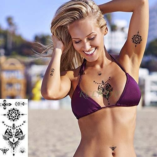 tzxdbh Etiqueta engomada del Tatuaje a Prueba de Agua Ojos ...