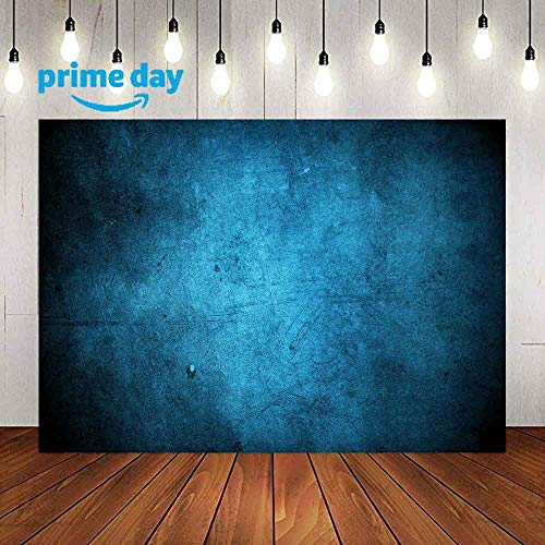 Blue Abstract Old Master Backdrops for Photography 9x6FT Retro Texture Blue Background for Photographers Portraits Photography Backdrops Model Head Image LULF145