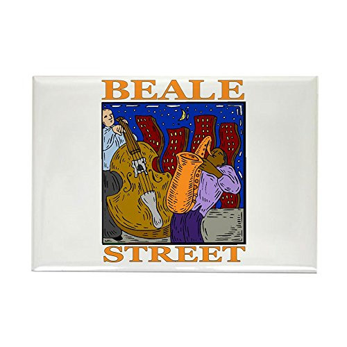 Street Rectangle Magnet - CafePress Beale Street Rectangle Magnet, 2
