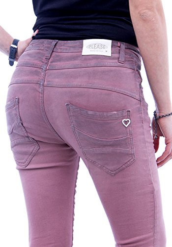 unique taille Rose Please Femme Jeans Z8tnqPw