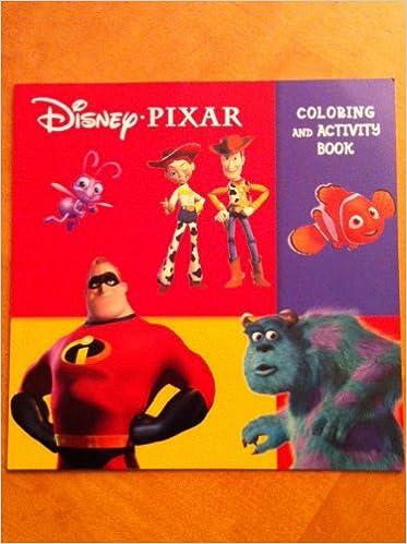 Google Livres Electroniques Disney S Pixar Coloring And