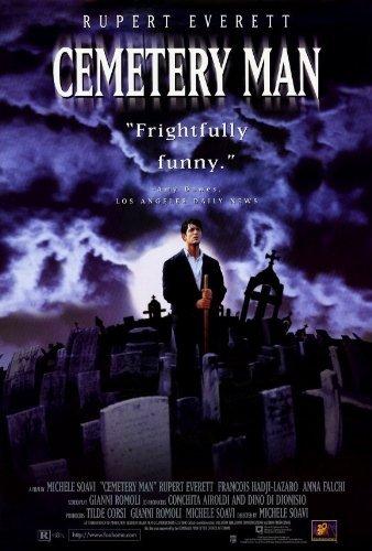 Cemetery Man Poster Movie 1996