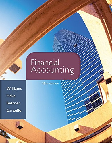 Financial Accounting, 16th Edition