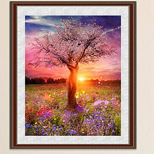 5d Diamond Painting New Arrival Painting Diamond Tree 3040cm New Arrival Tree 5D Diamonds Embroidery Diamond Mosaic Round Diamond Painting Cross Stitch Kits Home Decoration