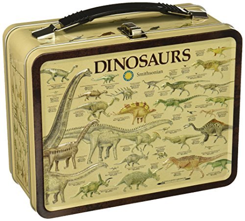 Aquarius Smithsonian Dinosaurs Large Gen 2 Tin Storage Fun Box