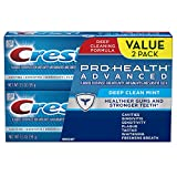 Crest Twin Pack Pro-Health Advanced Deep Clean Mint Toothpaste, 3.5 Ounce Tubes Each, Twin Pack