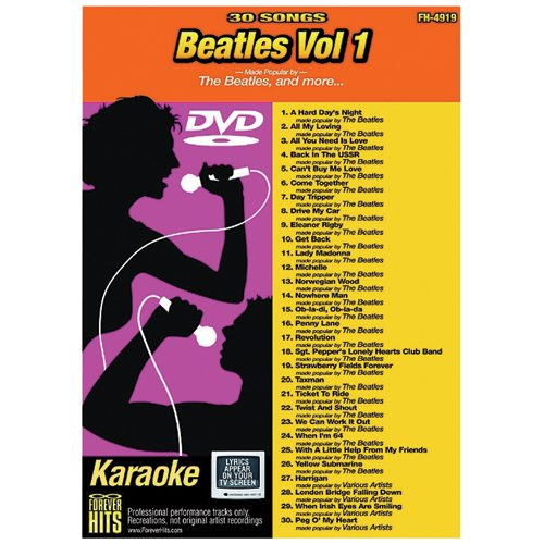 Emerson Forever Hits 4919 Beatles Vol 1 (30 Song DVD)