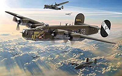 Corgi 1:72 USAAF Consolidated B-24H Liberator Heavy Bomber - Colonel Jimmy Stewart Male Call, 453rd Bombardment Group, RAF Old Buckenham, England, 1944