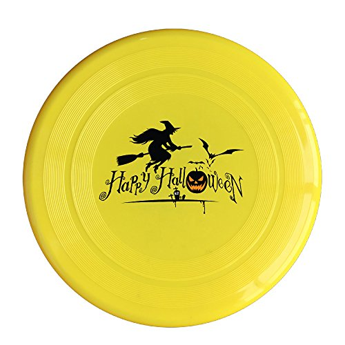 DETED Funny Happy Halloween Event Sport Disc - Yellow