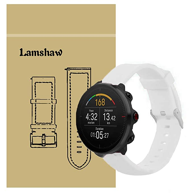 para Polar Vantage M Band, Lamshaw Quick Release Classic Silicona ...