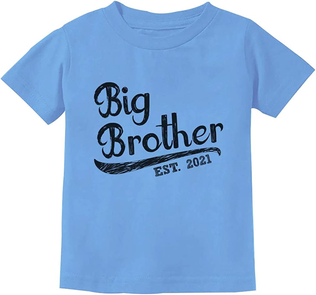 Gift for Big Brother Siblings Gift Boys Toddler//Kids Long sleeve T-Shirt Shirts