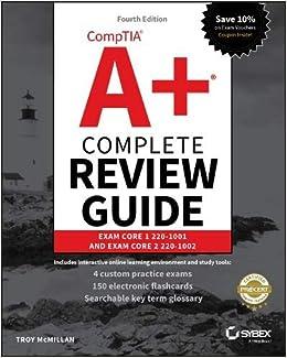 Comptia A+ Complete Review Guide: Exam Core 1 220-1001 and Exam Core 2 220-1002: Amazon.es: Troy McMillan: Libros en idiomas extranjeros