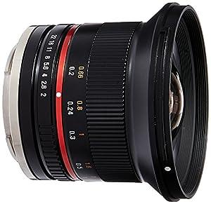 Samyang SY12M-E-BK 12mm F2.0 Ultra Wide Angle Lens for Sony E Cameras