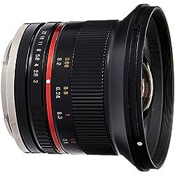 Samyang SY12M-E-BK 12mm F2.0 Ultra Wide Angle Lens
