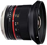 Samyang SY12M-E-BK 12mm F2.0 Ultra Wide Angle Lens for Sony E Cameras, Black