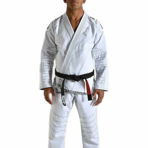 gr1ps Arma Dura BJJ GI White por GR1PS