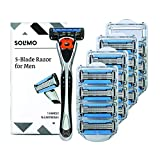 Amazon Brand - Solimo 5-Blade MotionSphere Razor