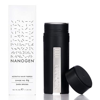 Nanogen Fibras Capilares Queratina: Castaño Oscuro 30 gr