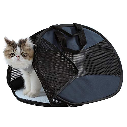 A4Pet Ultra Light Sturdy and Collapsible Pet Carrier for Cats and Small Animals