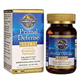 Garden of Life Whole Food Probiotic Supplement - Primal Defense Ultra Ultimate Probiotic Dietary Supplement for Digestive and Gut Health, 60 Vegetarian Capsules