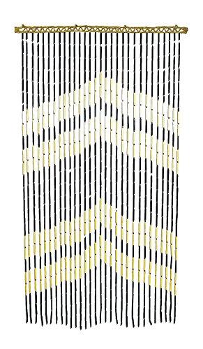 Arrow Heads Bamboo Beaded Door Curtain - ()