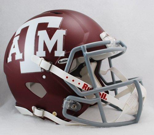 Texas A&M Aggies Riddell Speed Revolution Full Size NCAA Authentic Football Helmet