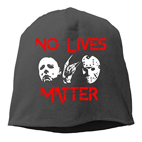 Knit Caps Beanie Hats Friday The 13th No Live Matters Fashion Adult (Pamela Anderson Costumes)