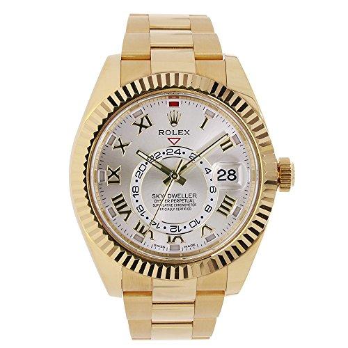 Rolex Sky-Dweller Automatic-self-Wind Male Watch 326938 (Certified Pre-Owned)